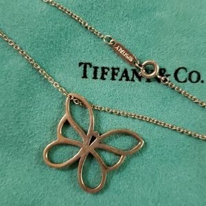 TIFFANY GEORGOUS LARGE BUTTERFLY PENDANT